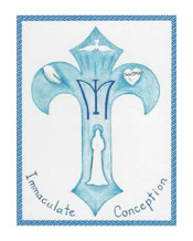 Holy Cards (no envelopes) of Immaculate Conception