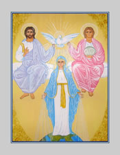 Icon Cards with Envelopes of Mary Mediatrix of Grace