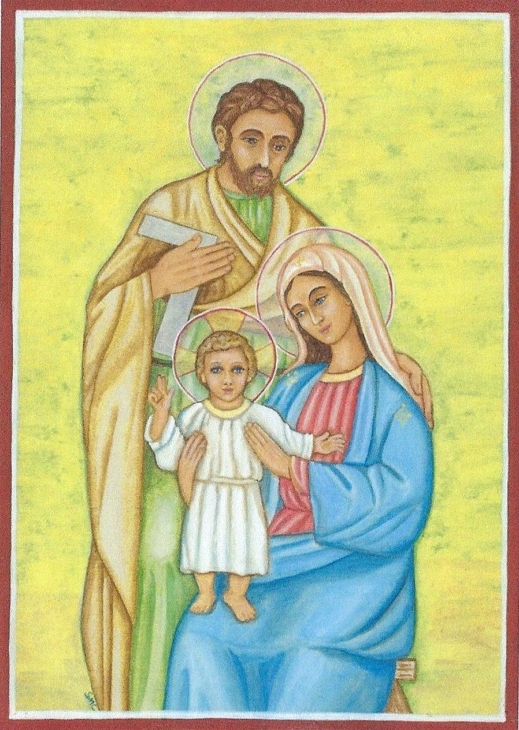 Holy Family group