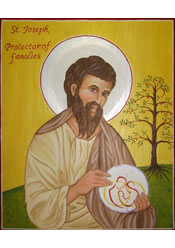 St. Joseph, Protector of Families