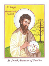 St. Joseph Protector of Families Leaflet